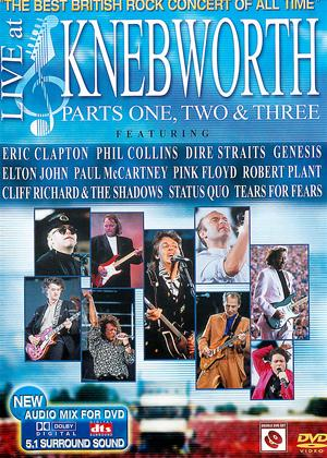 Rent Live at Knebworth 1990: Parts One, Two and Three Online DVD Rental