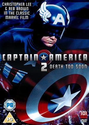 Rent Captain America 2: Death Too Soon Online DVD Rental
