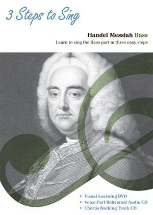 Rent Three Steps to Sing Handel Messiah: Bass Online DVD Rental