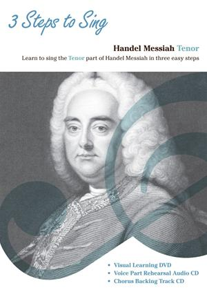 Rent Three Steps to Sing Handel Messiah: Tenor Online DVD Rental