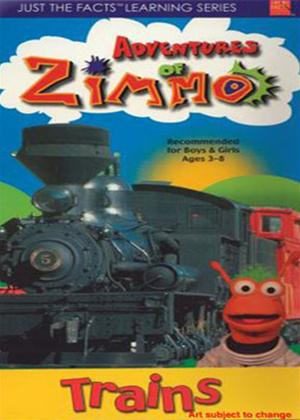 Rent Just the Facts: Adventures of Zimmo: Trains Online DVD Rental