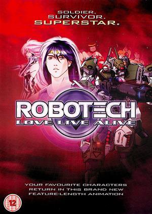 Rent Robotech: Love Live Alive Online DVD & Blu-ray Rental