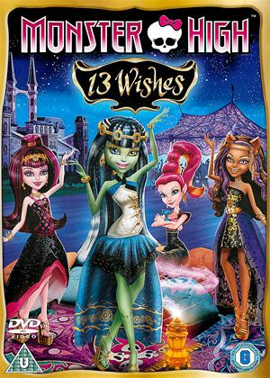 Rent Monster High: 13 Wishes Online DVD Rental