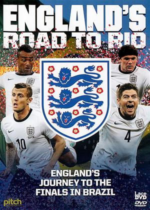 Rent England's Road to Rio: Brazil World Cup 2014 Online DVD Rental