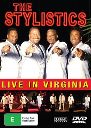 Rent Stylistics: Live in Virginia Online DVD Rental
