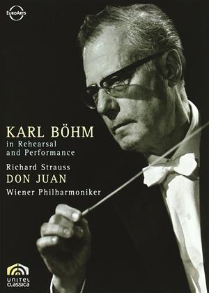 Rent Karl Bohm in Rehearsal and Performance: Strauss: Don Juan Online DVD Rental