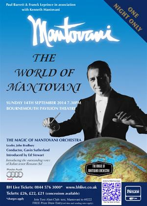 Rent Mantovani's Music from Around the World: The Mantovani TV Specials Online DVD Rental