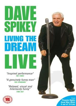 Rent Dave Spikey: Living the Dream: Live Online DVD Rental