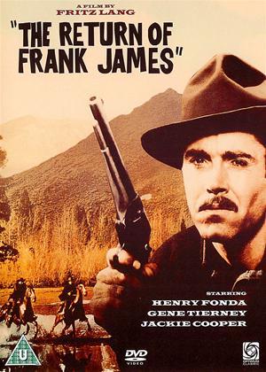 Rent The Return of Frank James Online DVD Rental