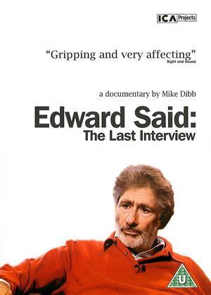 Rent Edward Said: The Last Interview Online DVD Rental
