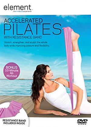 Rent Element: Accelerated Pilates with Resistance Band Online DVD Rental