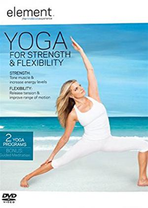 Rent Element: Yoga for Strength and Flexibility Online DVD Rental