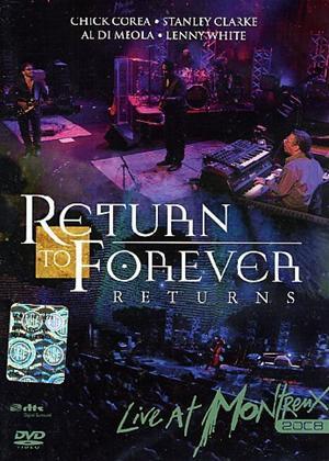 Rent Return to Forever: Live at Montreux 2008 Online DVD Rental