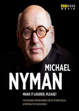 Rent Michael Nyman: Make It Louder, Please! Online DVD Rental