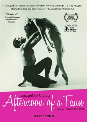 Rent Afternoon of a Faun: Tanaquil Le Clercq Online DVD Rental