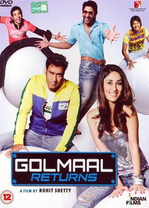 Rent Golmaal Returns Online DVD Rental