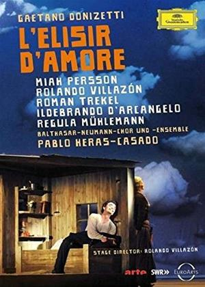 Rent L'elisir D'amore: Balthasar Neumann Choir (Heras-Casado) Online DVD Rental