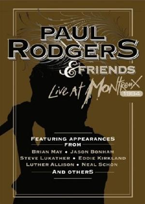 Rent Paul Rodgers and Friends: Live at Montreux 1994 Online DVD Rental