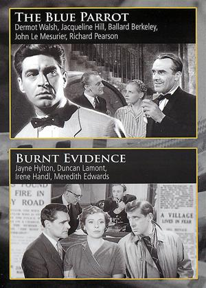 Rent The Blue Parrott / Burnt Evidence Online DVD Rental