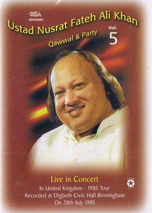 Rent Ustad Nusrat Fateh Ali Khan: Qawwal and Party: Vol.5 Online DVD Rental