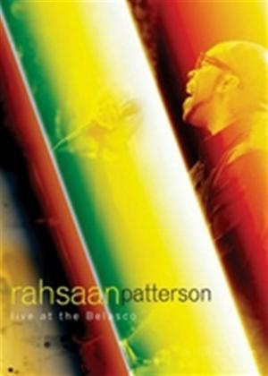 Rent Rahsaan Patterson: Live at the Belasco Online DVD Rental