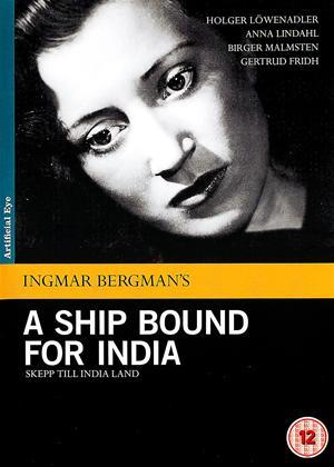 Rent A Ship Bound for India (aka Skepp till India land) Online DVD Rental
