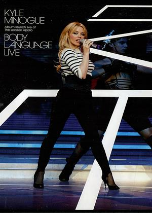 Rent Kylie Minogue: Body Language: Live Online DVD Rental