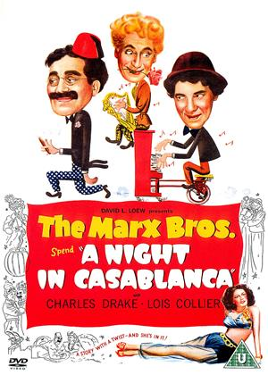 Rent The Marx Brothers: A Night in Casablanca Online DVD Rental