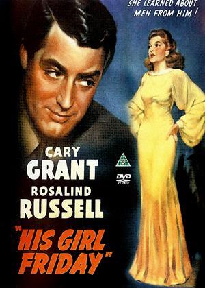 His Girl Friday Online DVD Rental