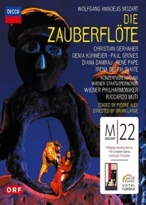 Rent Die Zauberflöte: Wiener Philharmoniker (Muti) Online DVD Rental