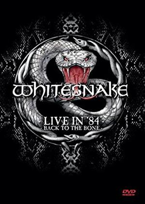 Rent Whitesnake: Live in 1984: Back to the Bone Online DVD Rental