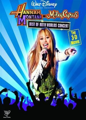 Rent Hannah Montana and Miley Cyrus: Best of Both Worlds Concert Tour Online DVD Rental