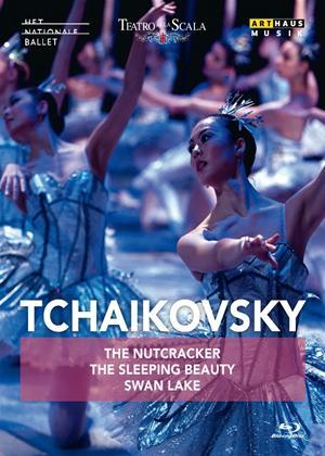 Rent Tchaikovsky: The Nutcracker/The Sleeping Beauty/Swan Lake Online DVD Rental