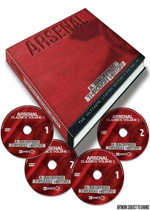 Rent Arsenal FC: Backpass Through History Online DVD Rental