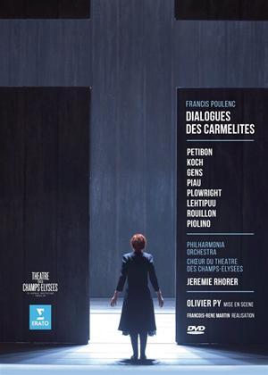 Rent Dialogues Des Carmelites: Théâtre Des Champs-Elysées (Rhorer) Online DVD Rental