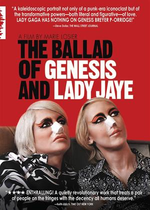 Rent The Ballad of Genesis and Lady Jaye Online DVD Rental