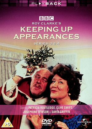 Rent Keeping Up Appearances: Series 3 and 4 Online DVD Rental
