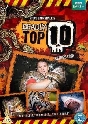 Rent Steve Backshall's Deadly Top 10: Series 1 Online DVD Rental