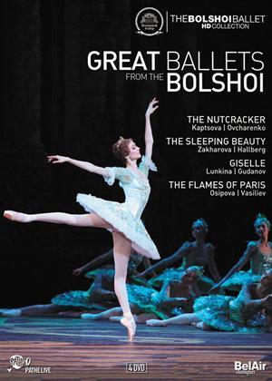 Rent Great Ballets from the Bolshoi Online DVD Rental