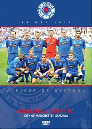 Rent Uefa Cup Final 2008: Rangers V Zenith St.Petersburg Online DVD Rental
