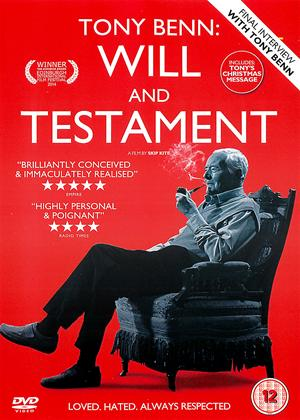Rent Tony Benn: Will and Testament Online DVD Rental