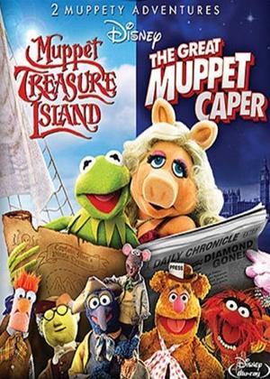 Rent Muppet Treasure Island / The Great Muppet Caper Online DVD Rental