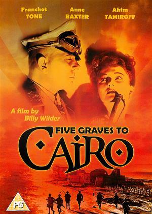 Rent Five Graves to Cairo Online DVD Rental