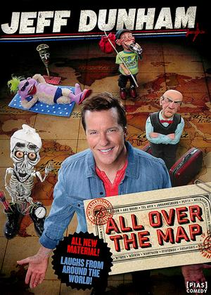 Rent Jeff Dunham: All Over the Map Online DVD Rental