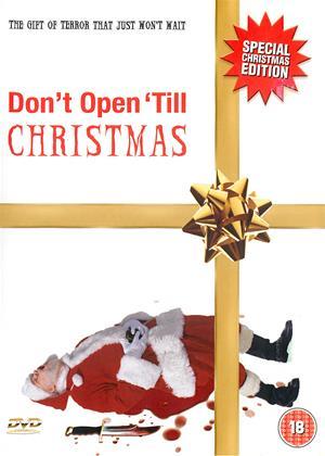 Rent Don't Open 'Til Christmas Online DVD Rental