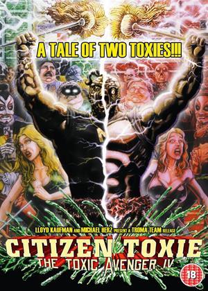 Rent The Toxic Avenger: Part 4 Online DVD Rental