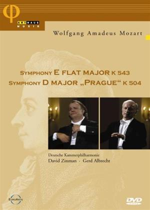 Rent Mozart: Symphony in E Flat Major K543: Symphony in D Major Prague K504 Online DVD Rental