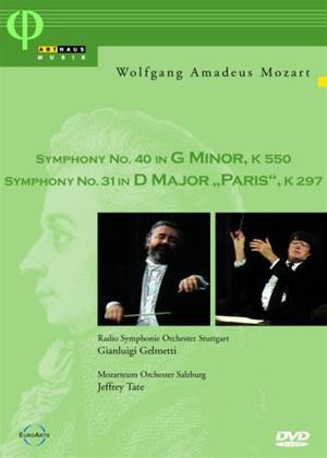 Rent Mozart: Symphony No. 40/ Symphony No. 31 Online DVD Rental