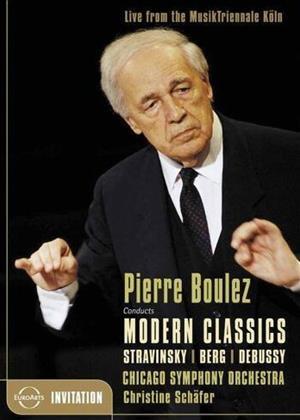 Rent Chicago Symphony Orchestra: Pierre Boulez Online DVD Rental