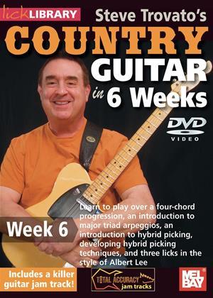 Rent Steve Trovato's Country Guitar in 6 Weeks: Week 6 Online DVD Rental